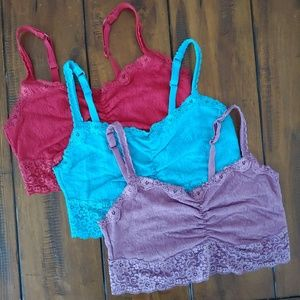 Soma Lace Bralettes